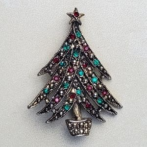 VINTAGE Christmas Brooch